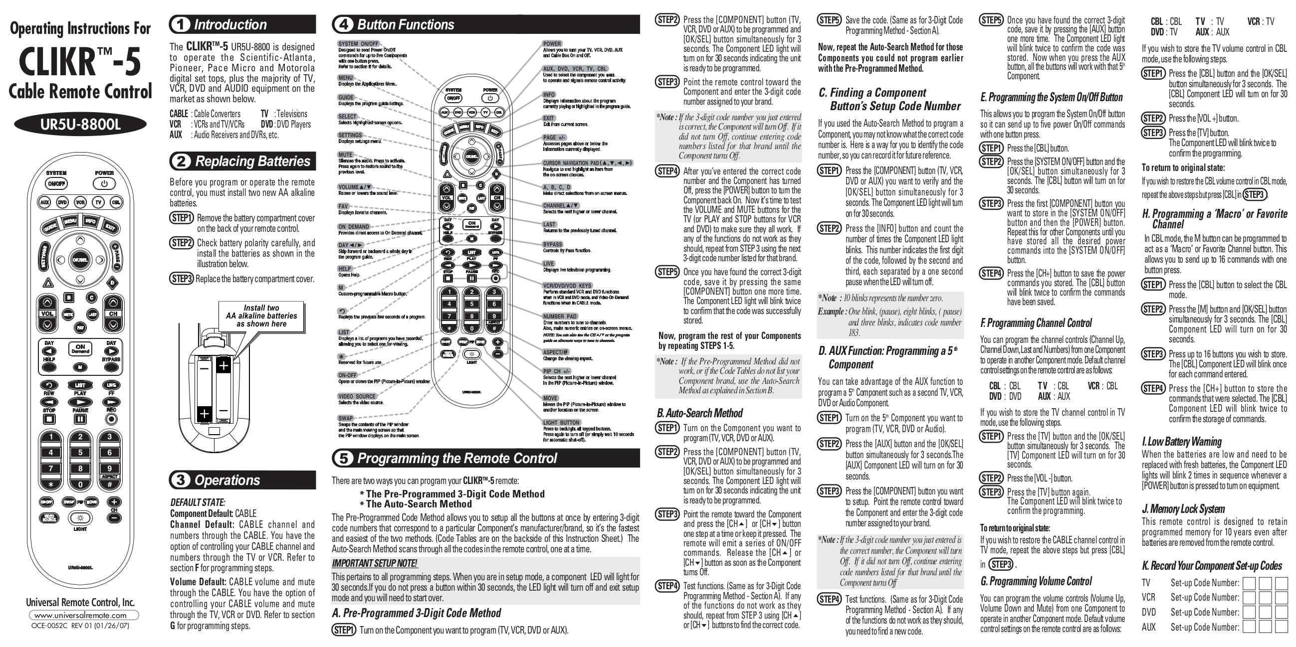 Ur4 Expg Chd2 Manual Getmonitor