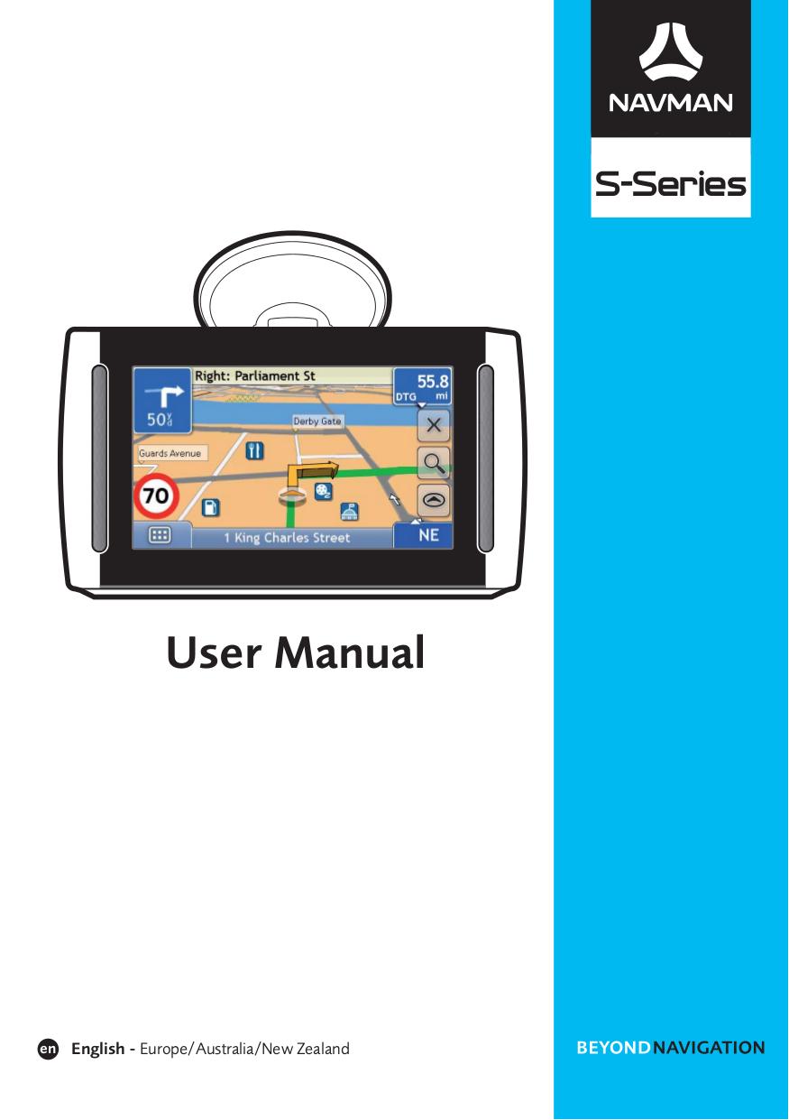 pdf for Navman GPS S300 manual
