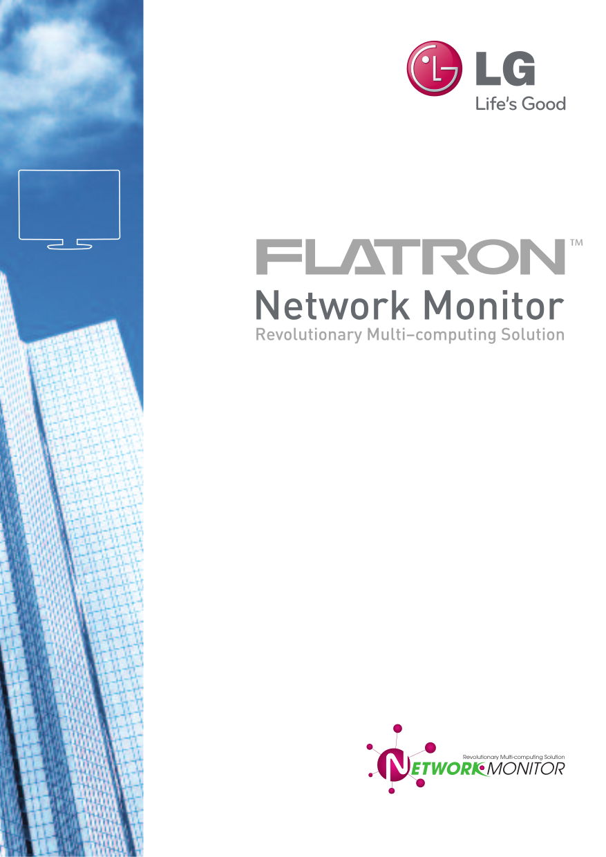 pdf for LG Monitor N1642W manual