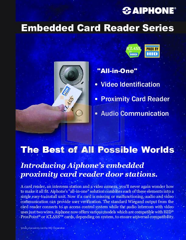 pdf for Aiphone Other NE-SS Intercoms manual