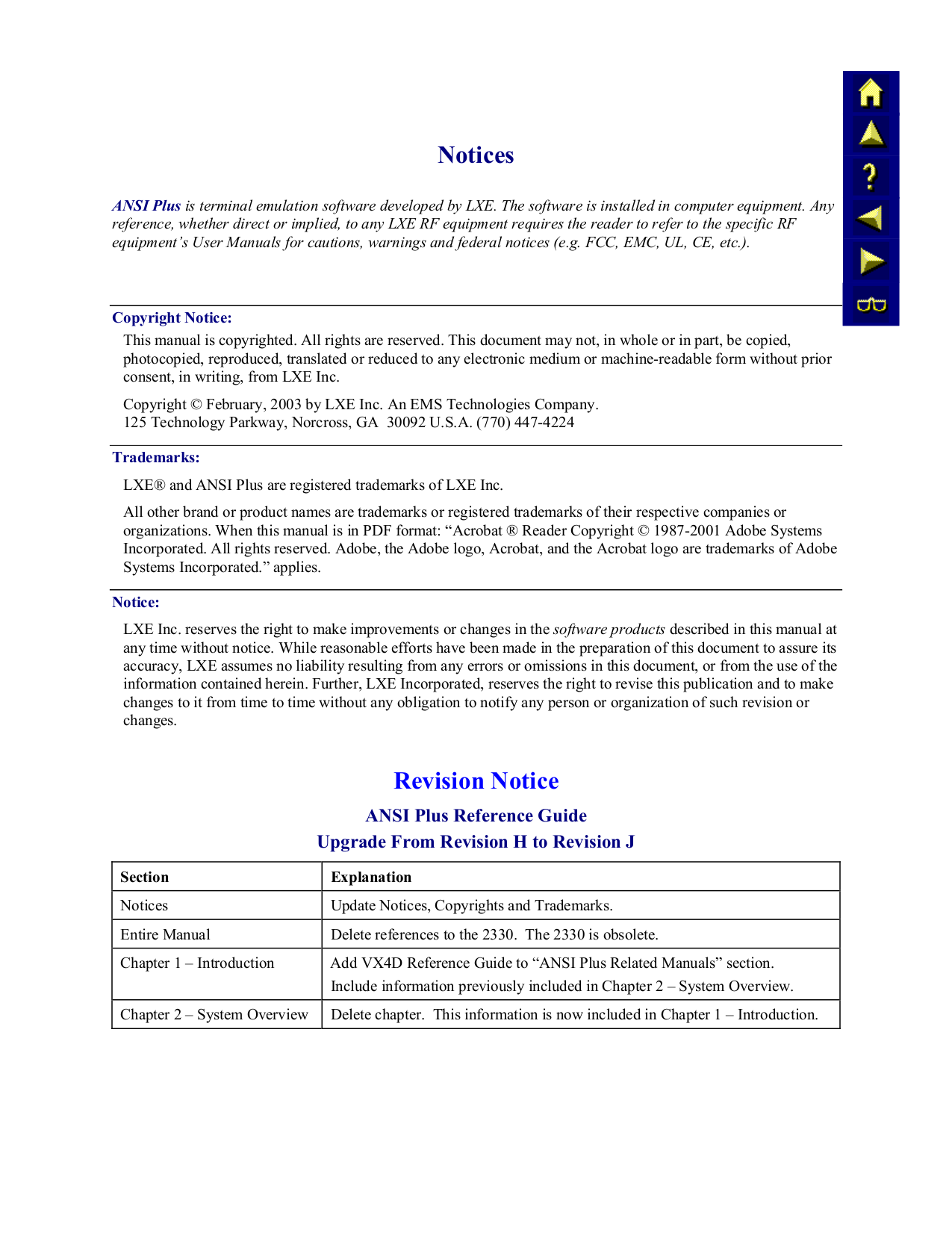 ems manual j software