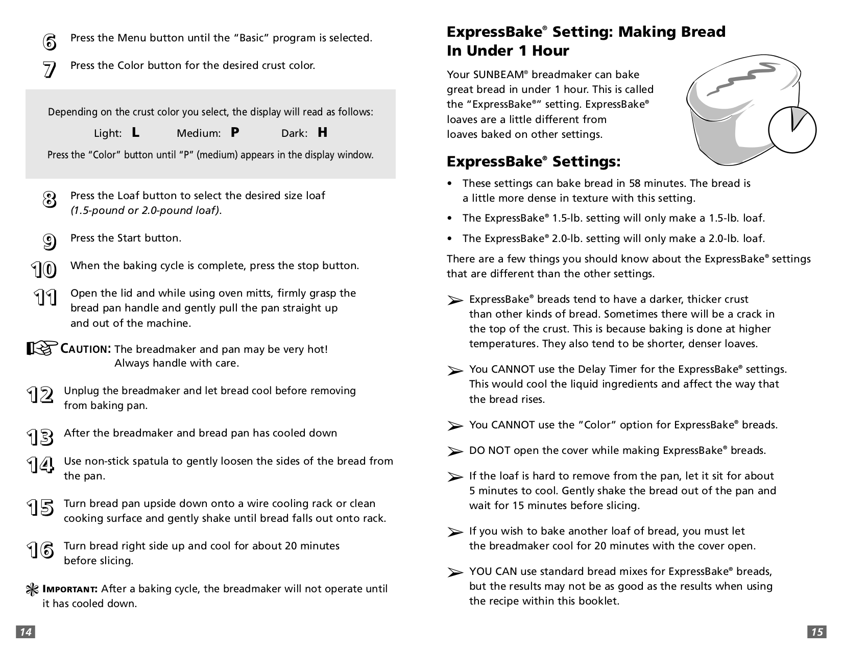 pdf manual for sunbeam bread maker 5891 rh umlib com sunbeam bread maker model 5891 manual sunbeam bread maker model 5891 manual