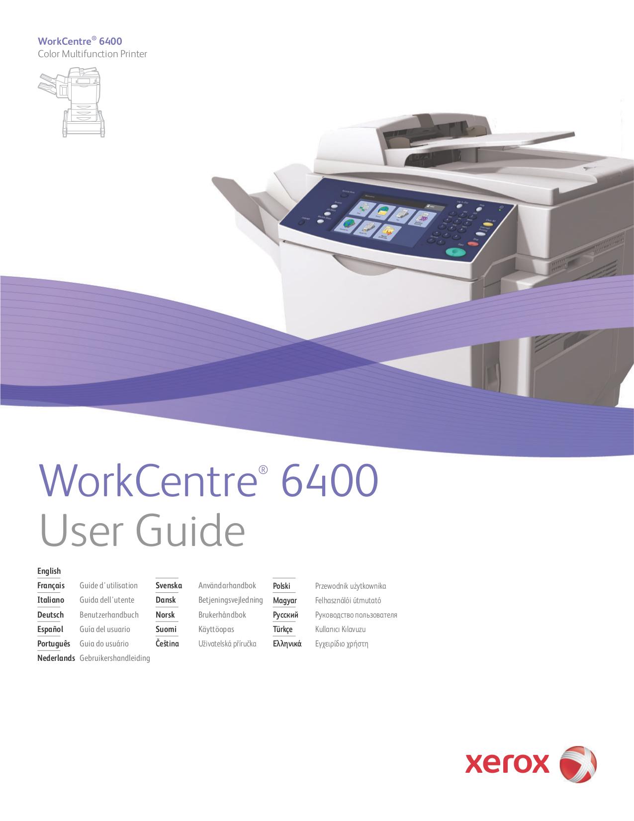 Download free pdf for Xerox WorkCentre M24 Multifunction Printer manual