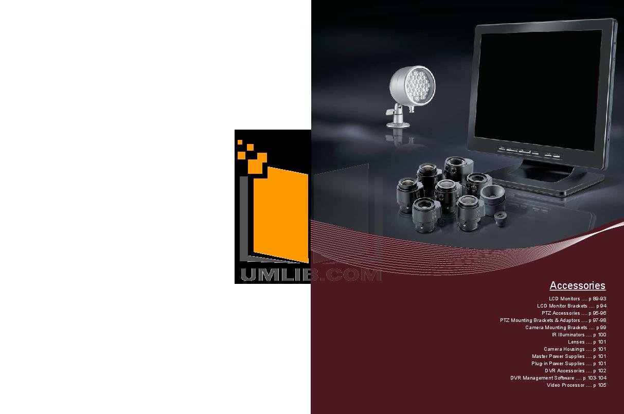 pdf for EverFocus Security Camera EZ180 manual