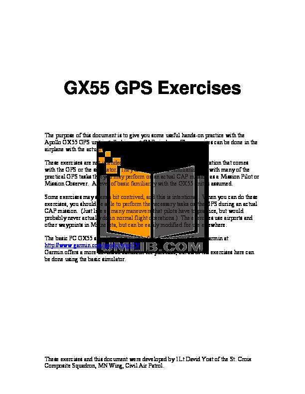 pdf manual for garmin gps gx 55 rh umlib com Vinyl Graphics Installation Guide RV Toilets Installation Diagrams