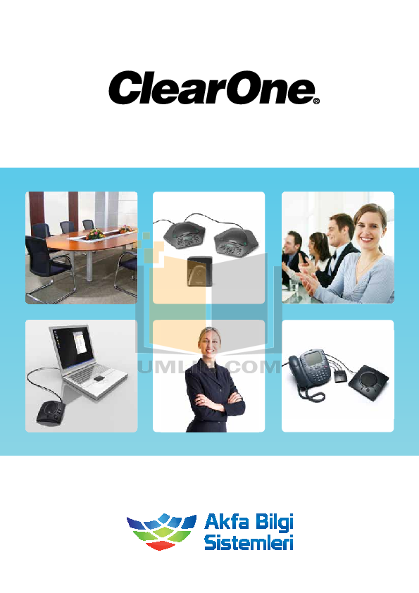 pdf for ClearOne Telephone CHATAttach 150 manual