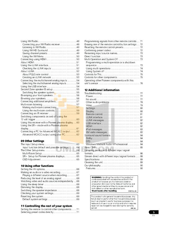 PDF manual for Bg Subwoofer Radia Series R-88 Sub