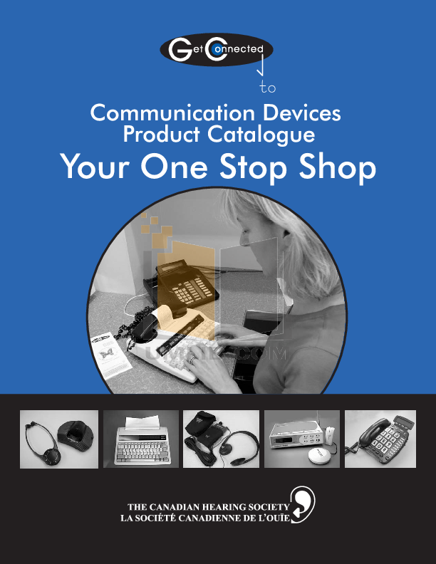 pdf for Ameriphone Other AMPXB Personal Tactile Signaler manual