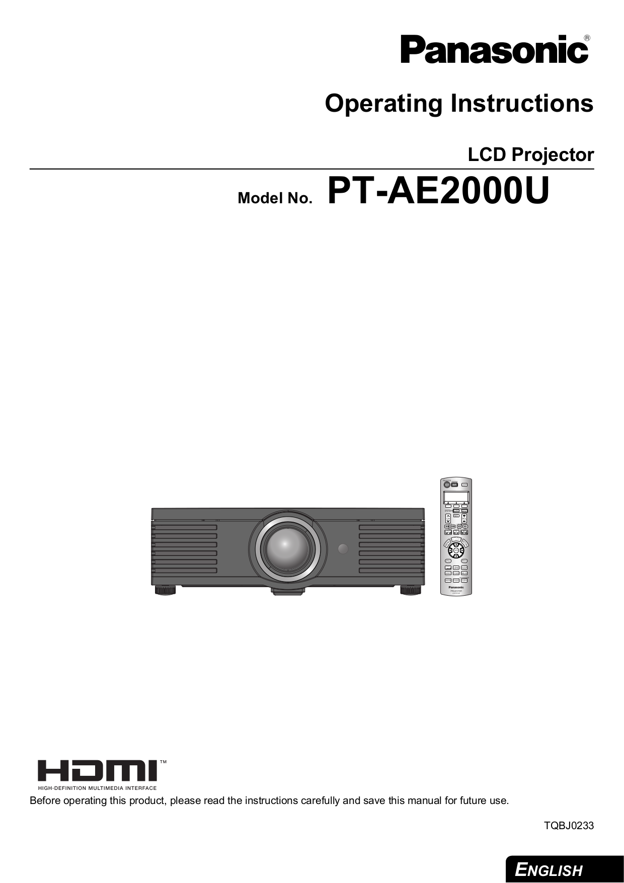 Panasonic PT-LX270 Projector Lamp Module