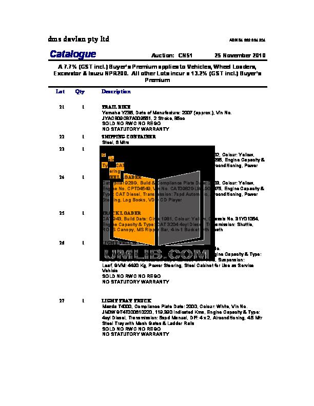 Acer Desktop Aspire T690 pdf page preview