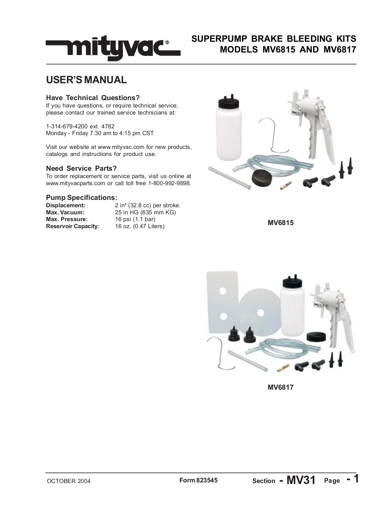 pdf for Vtech Telephone mi6820 manual