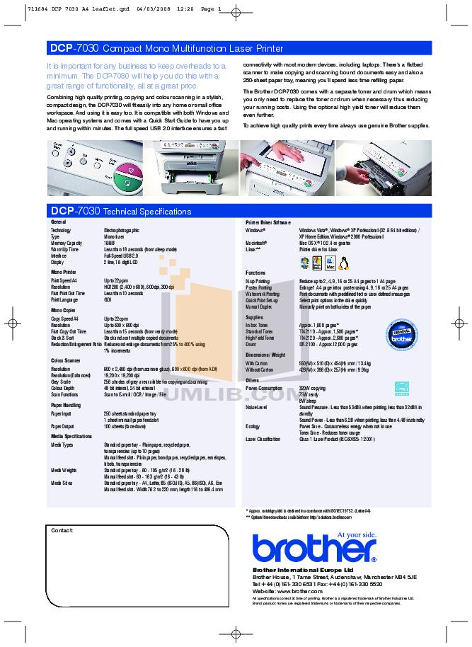 how to print pdf files mfc j485dw