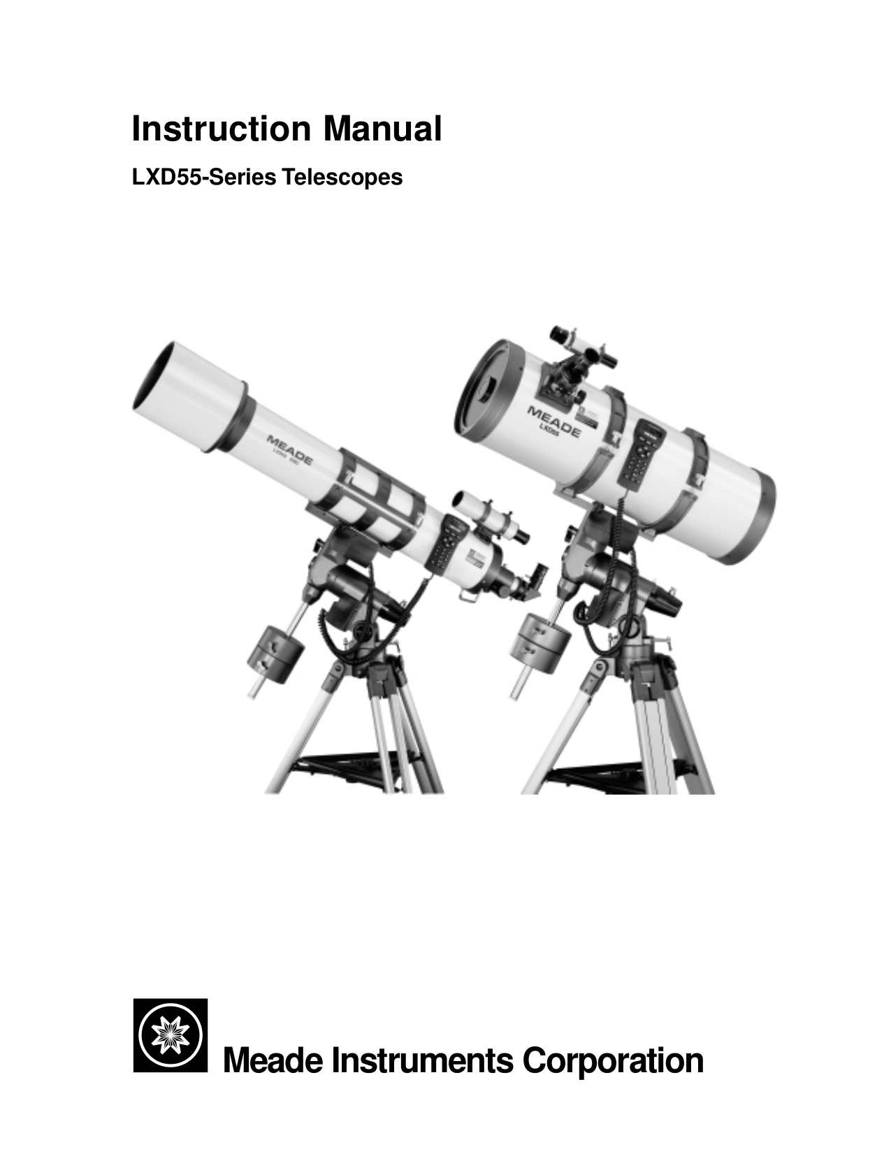 a user s guide to the meade lxd55 and lxd75 telescopes peston martin