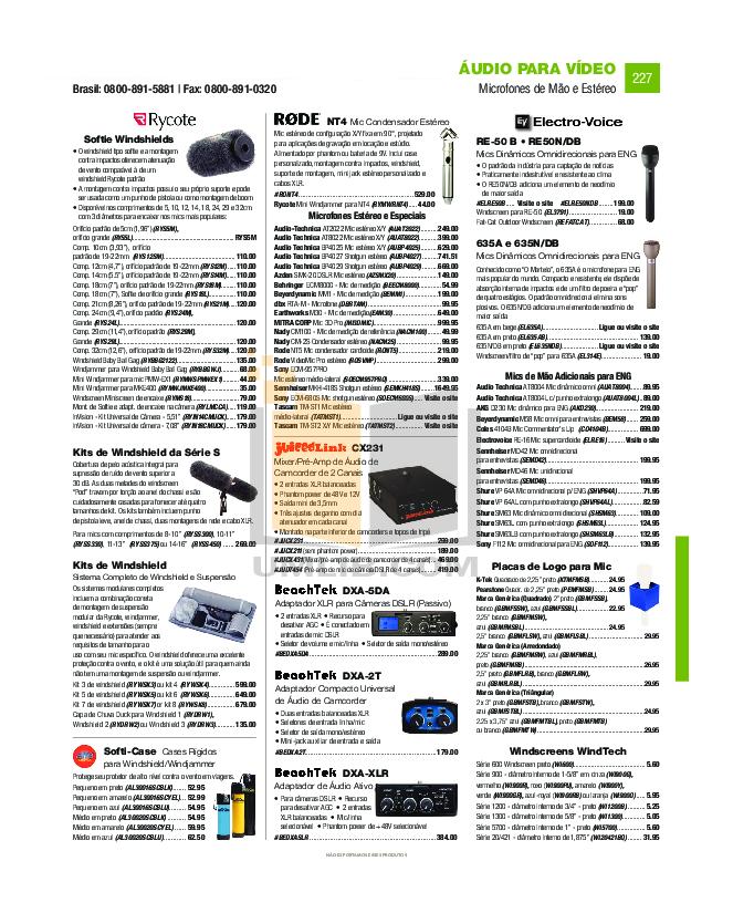 Azden Headset HS-11 pdf page preview