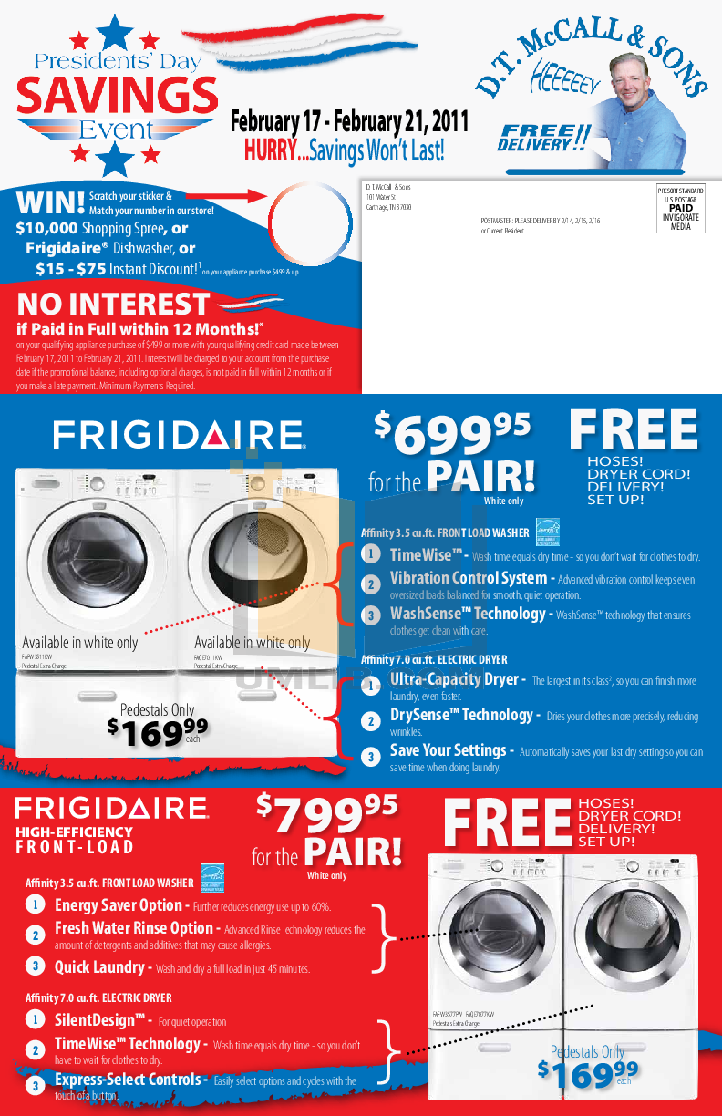pdf for Frigidaire Refrigerator Professional FPHS2399KF manual