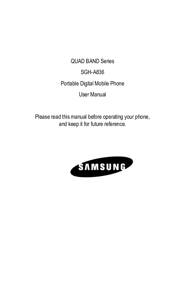 pdf for Samsung Cell Phone Rugby manual