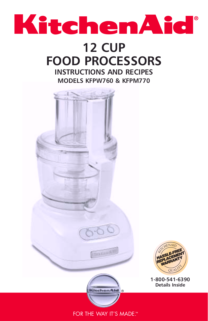 Download free pdf for kitchenaid kfpw760 food processor manual pdf for kitchenaid food processor kfpw760 manual forumfinder Image collections