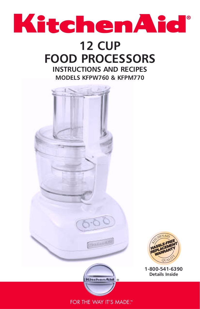 Download free pdf for kitchenaid kfpw760 food processor manual pdf for kitchenaid food processor kfpw760 manual forumfinder Gallery