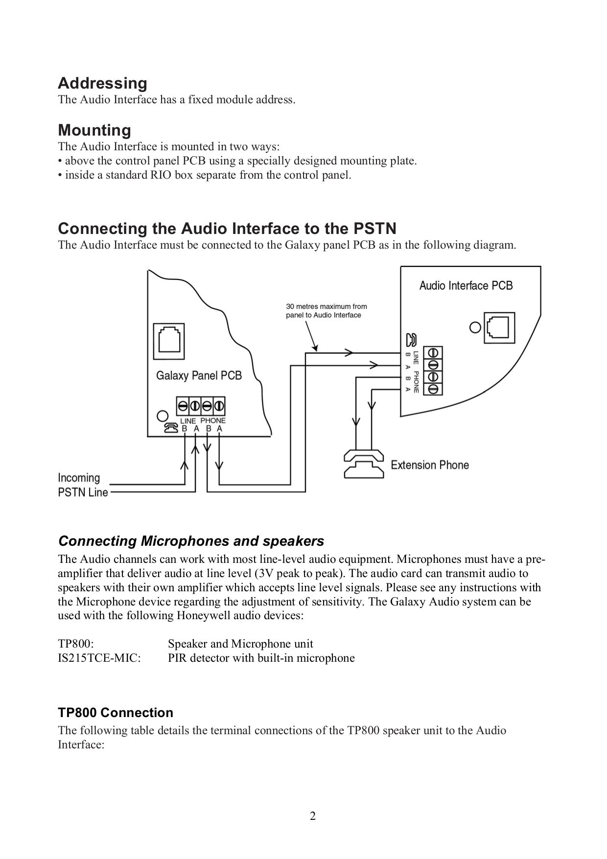 Owi Speaker TP800 pdf page preview
