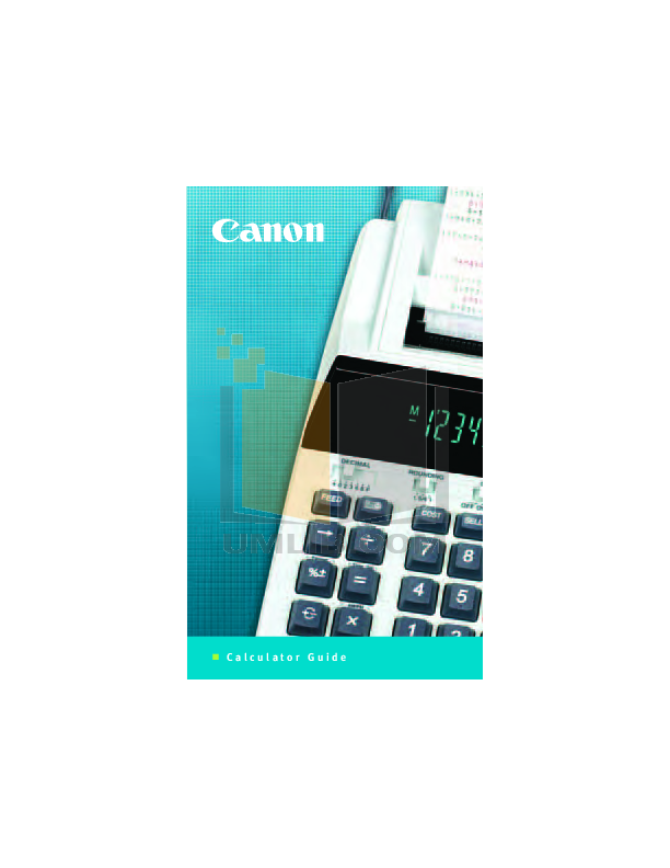 download free pdf for canon mp11dx calculator manual rh umlib com canon mp11dx calculator instructions MP11DX Ribbon Replacement