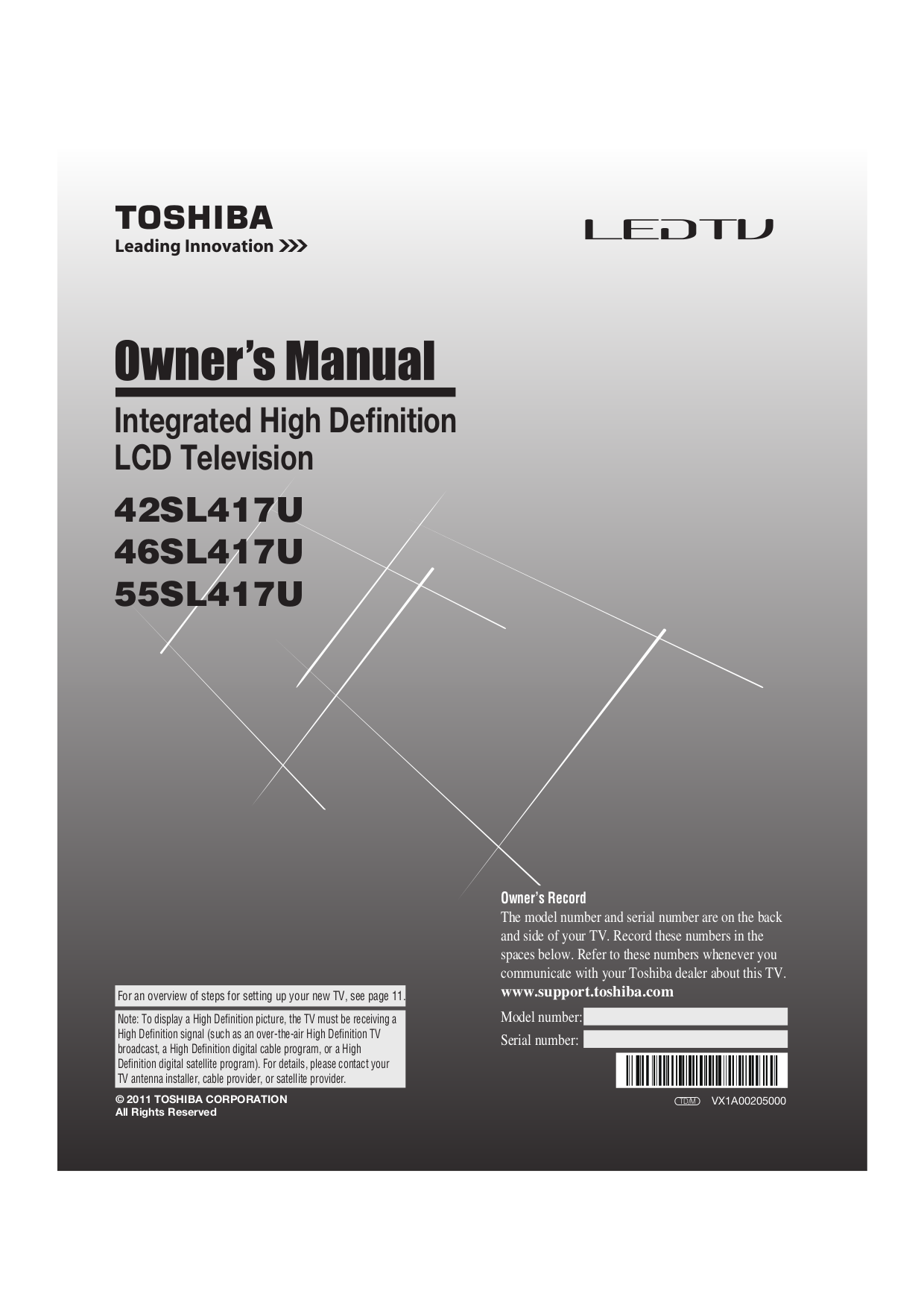 download free pdf for toshiba 55sl417u tv manual rh umlib com toshiba 55sl417u manual pdf toshiba 55sl417u manual pdf