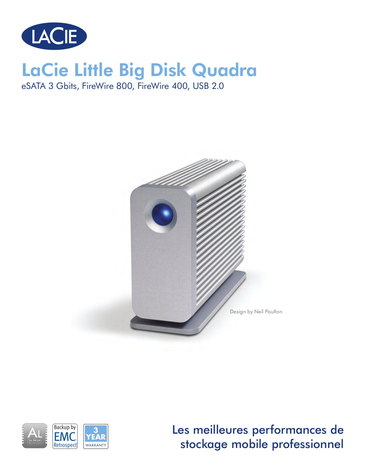 LaCie Storage 301317U pdf page preview