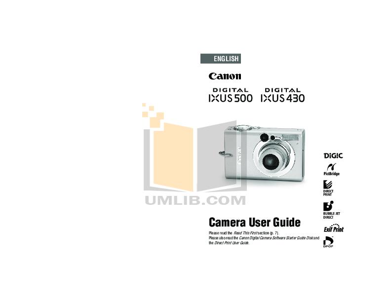 download free pdf for canon ixus 500 digital camera manual rh umlib com canon ixus 500 hs manual pdf