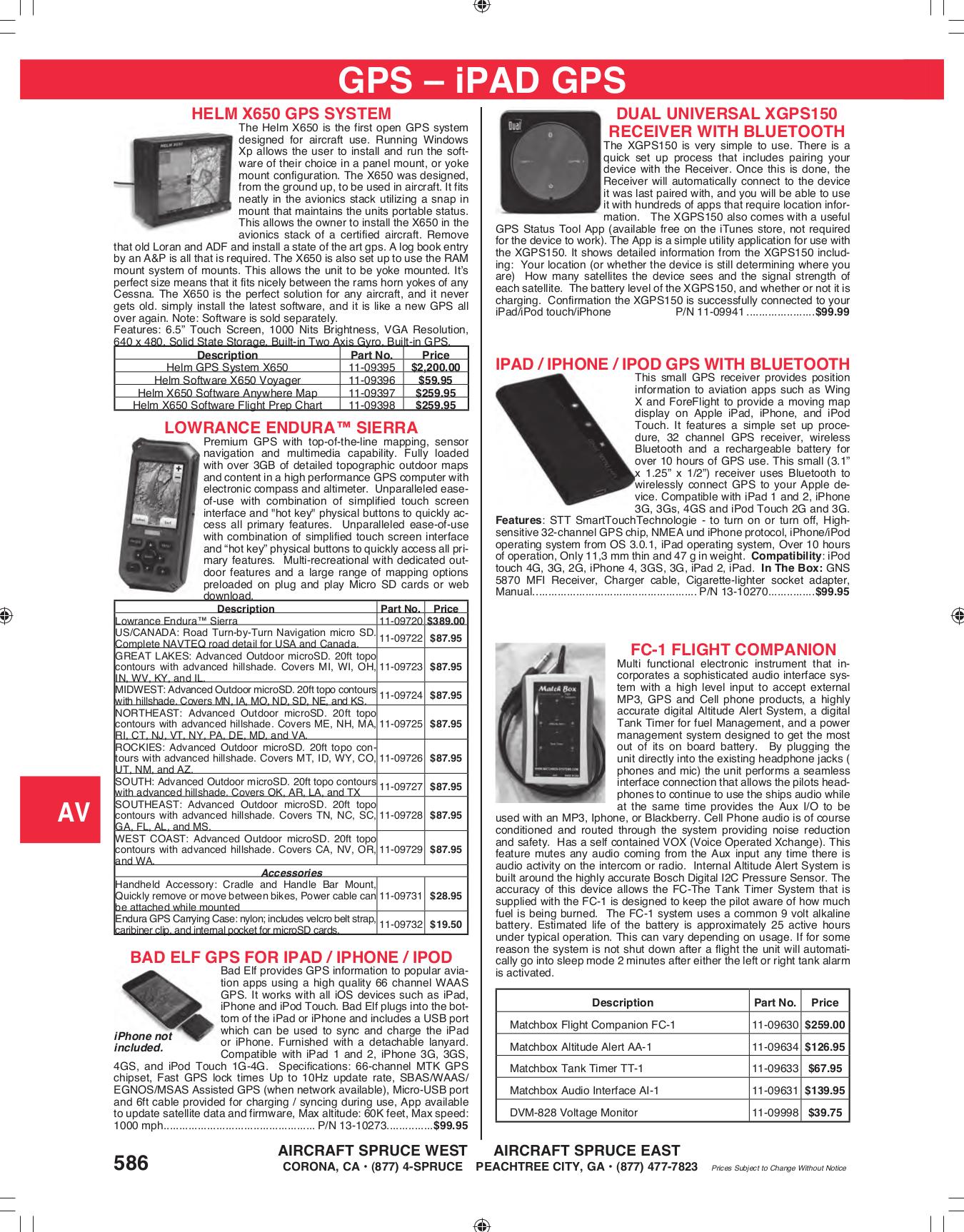 pdf for Lowrance GPS Endura Sierra manual