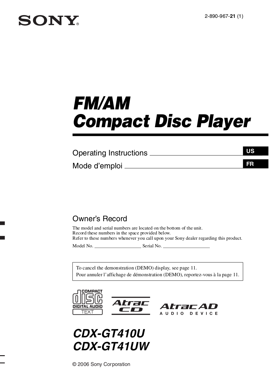 Sony Cdx Gt200 Wiring Diagram Pdf - Somurich.com