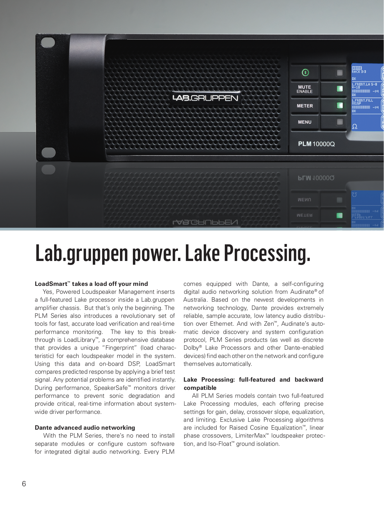 Lab.gruppen Amp fP Series FP 3400 pdf page preview
