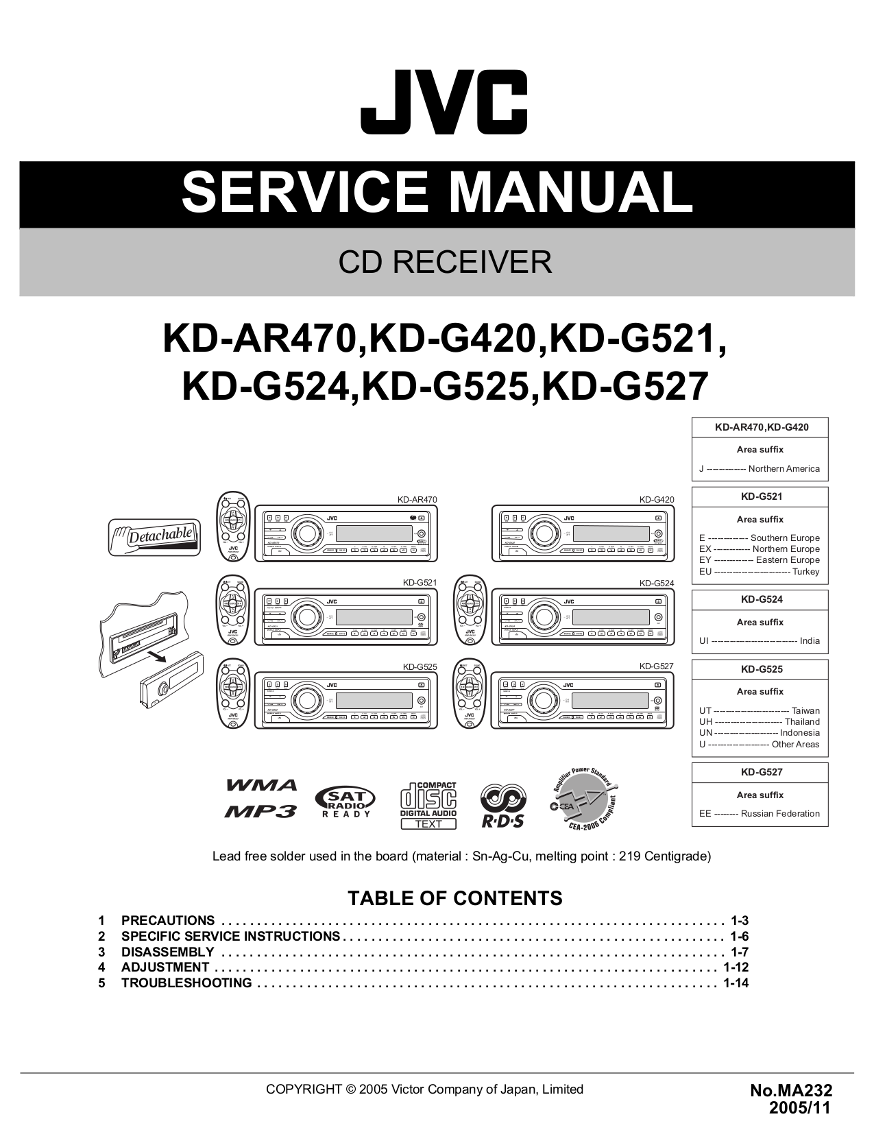 Nice Wiring Jvc Diagram Kdsr81bt Picture Collection - Wiring Diagram ...