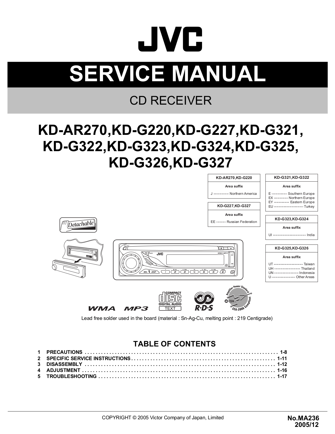 Jvc Kd R320 Wiring Harness Library X250bt Diagram Car Receiver S51 Pdf Page Preview Diagrams Kdr330 Head Unit