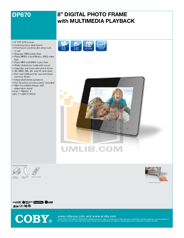 coby dp870 user guide car owners manual u2022 rh karenhanover co User Manual User Manual