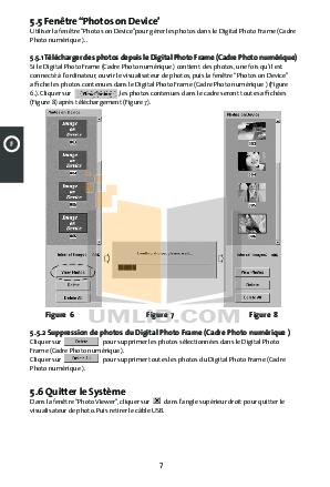 pdf manual for coby digital photo frame dp870 rh umlib com Clip Art User Guide Example User Guide