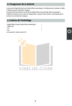 pdf manual for coby digital photo frame dp870 rh umlib com User Training User Training