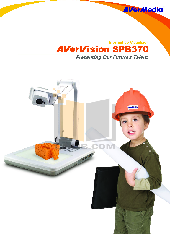 pdf for Avermedia Other AverVision SPB370 Projector-Accessory manual