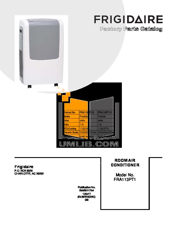 download free pdf for frigidaire fra113pt1 air conditioner manual rh umlib com