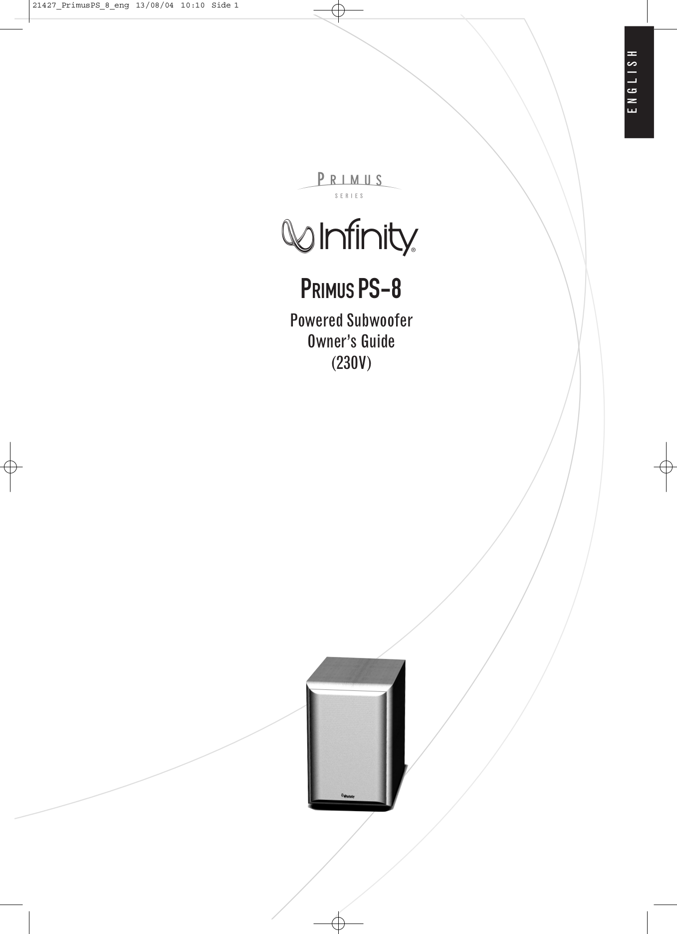 download free pdf for infinity ps 10 subwoofer manual