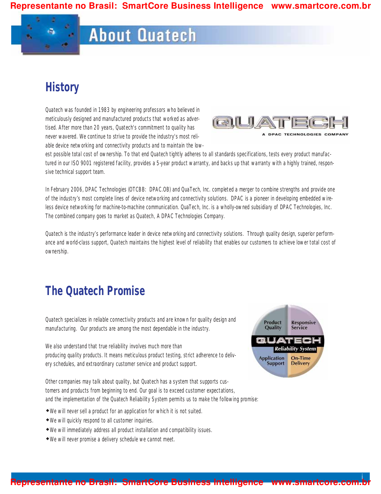 Quatech Other SSCLP-300 PCI Serial Boards pdf page preview