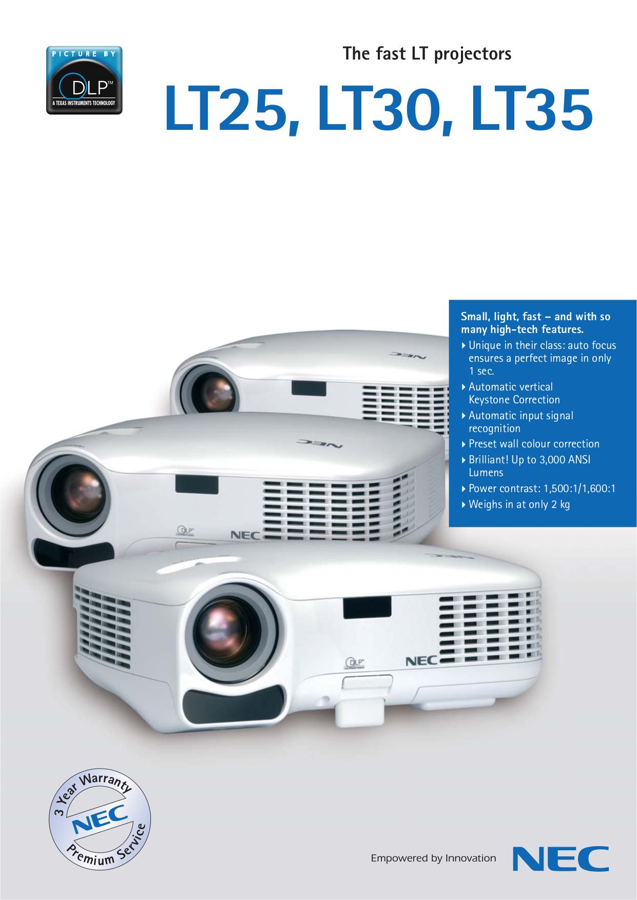 download free pdf for nec lt25 projector manual rh umlib com NEC Projectors Troubleshooting NEC VT 47 Projector Manual