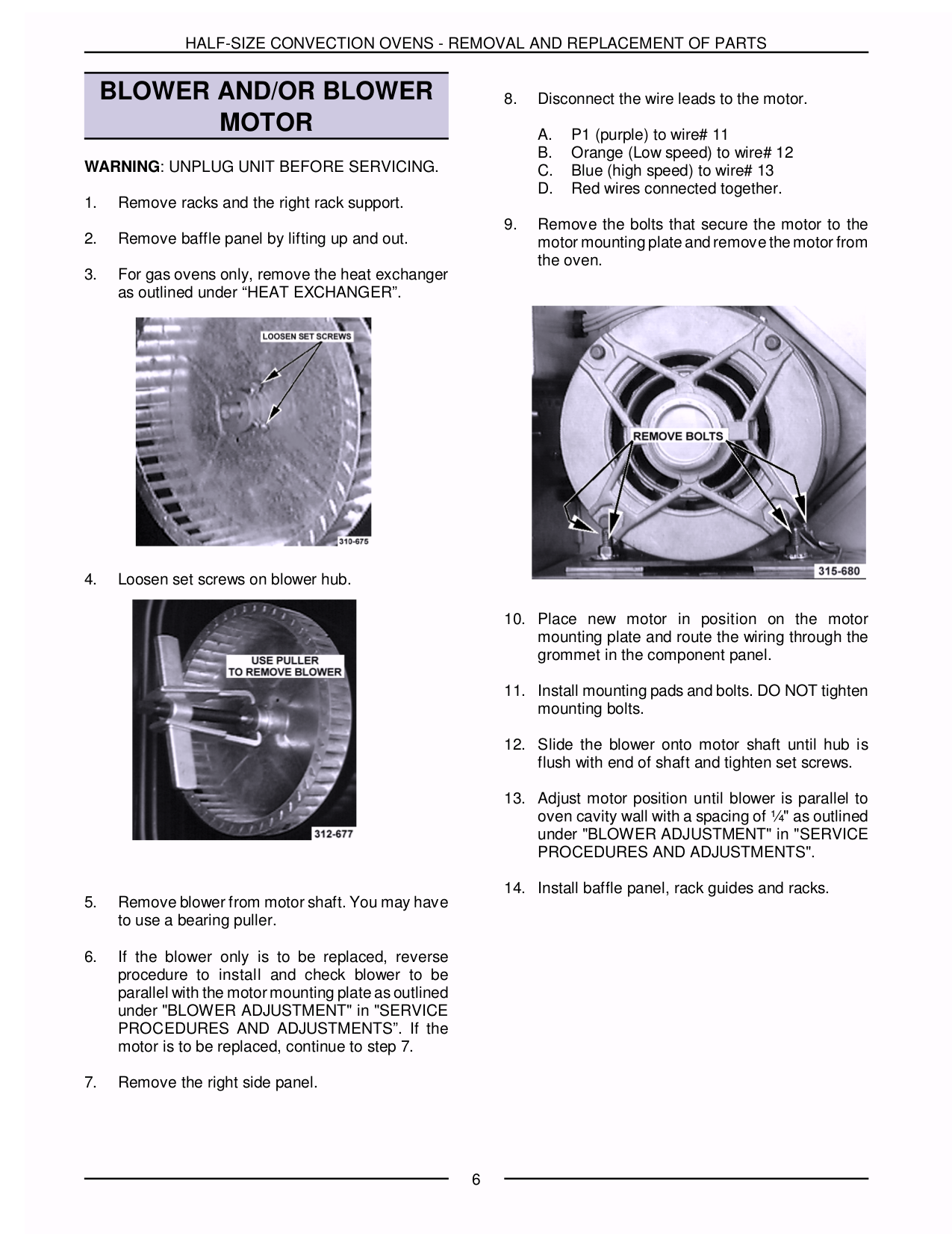 Vulcan Oven ECO2C pdf page preview
