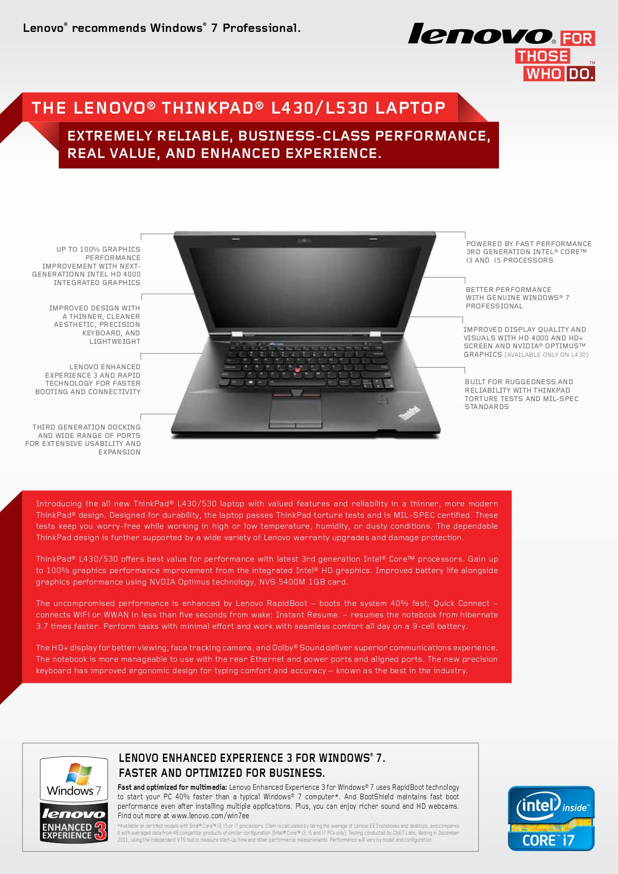 pdf for IBM Laptop ThinkPad i Series 1421 manual