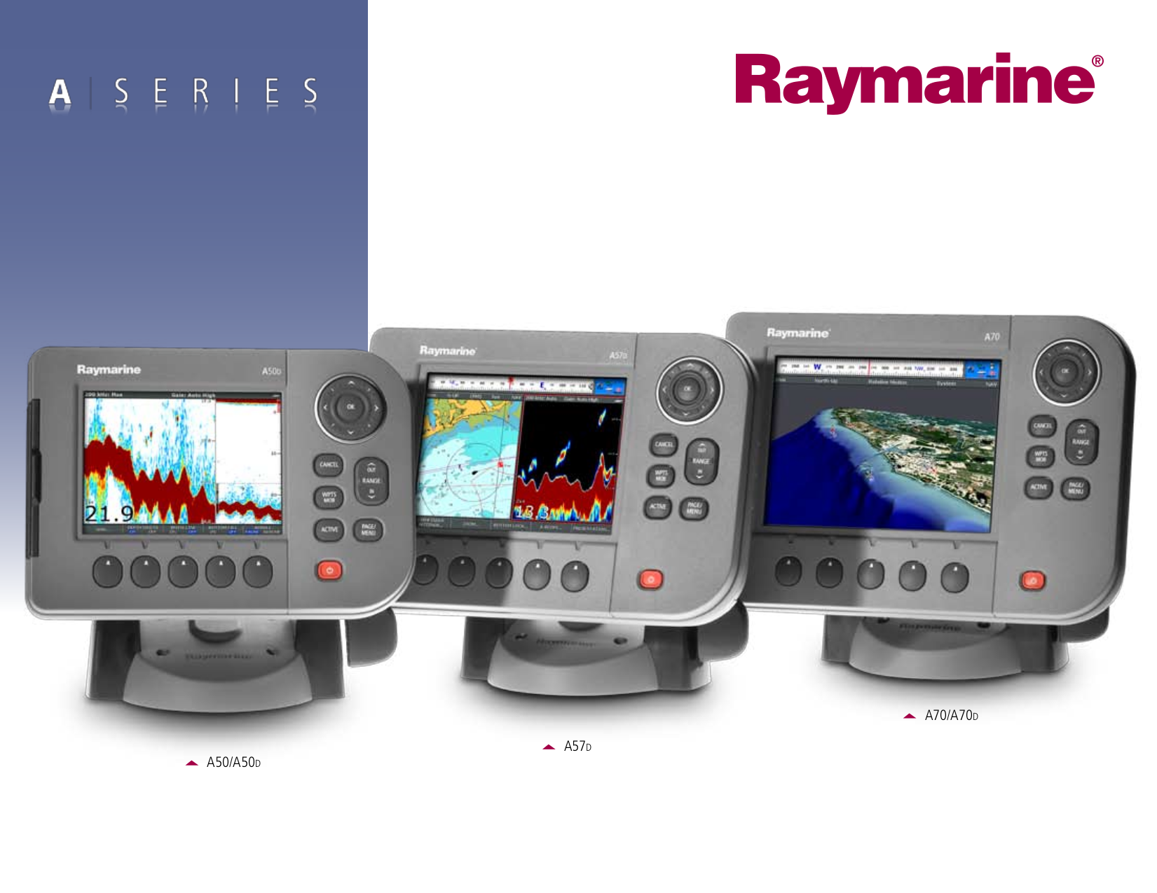 Download free pdf for Raymarine A Series A50D GPS manual