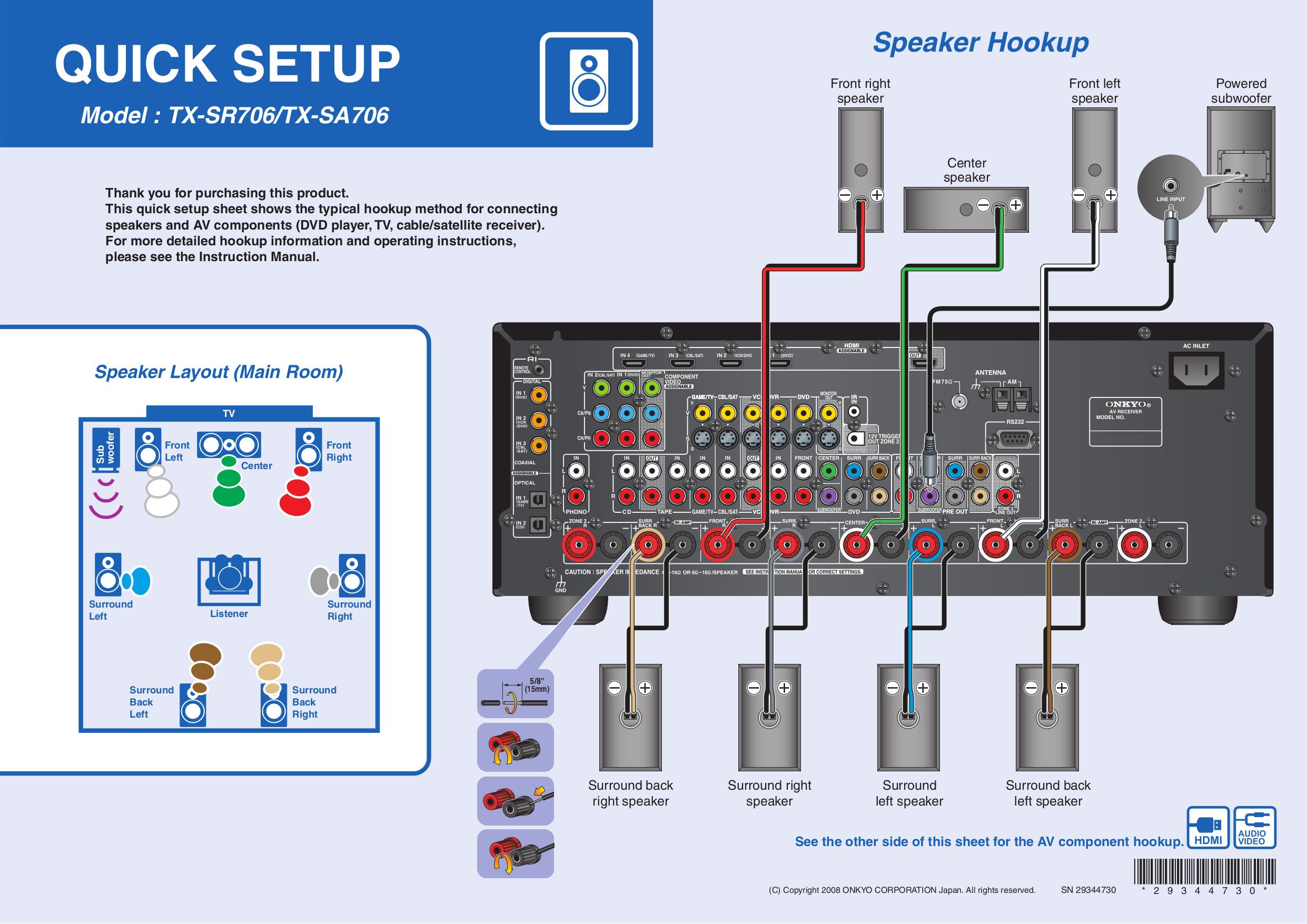 Onkyo tx sr706 manual download.