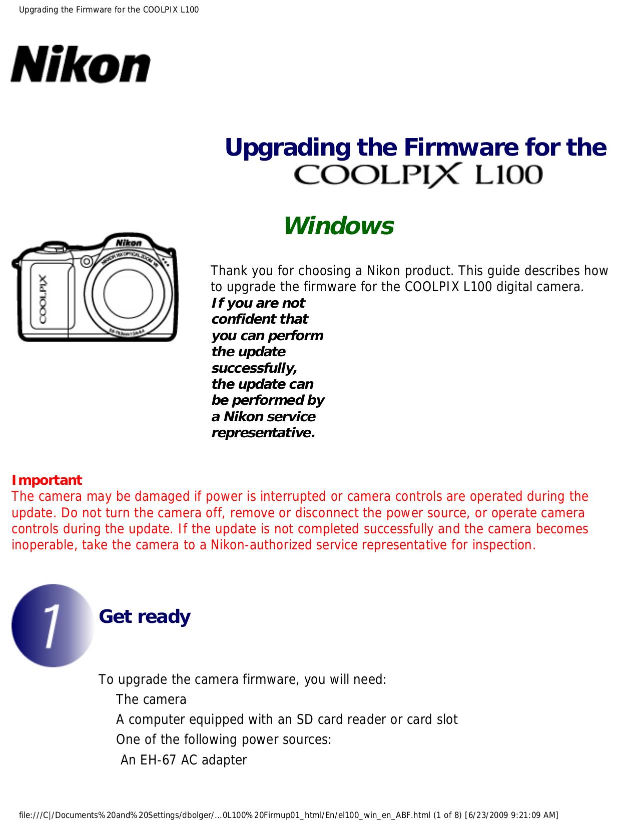 pdf manual for nikon digital camera coolpix l100