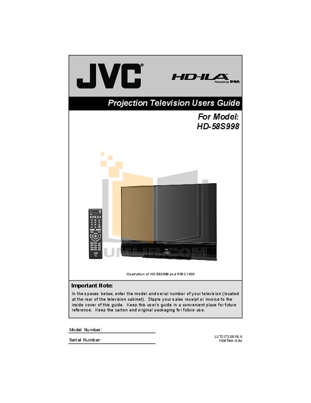 pdf for DirecTV DVR HIRD-D01 manual