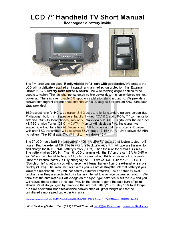 download free pdf for haier hlt71 tv manual rh umlib com Haier LCD TV 7 Haier LCD TV 7