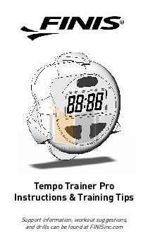 finis tempo trainer how to use