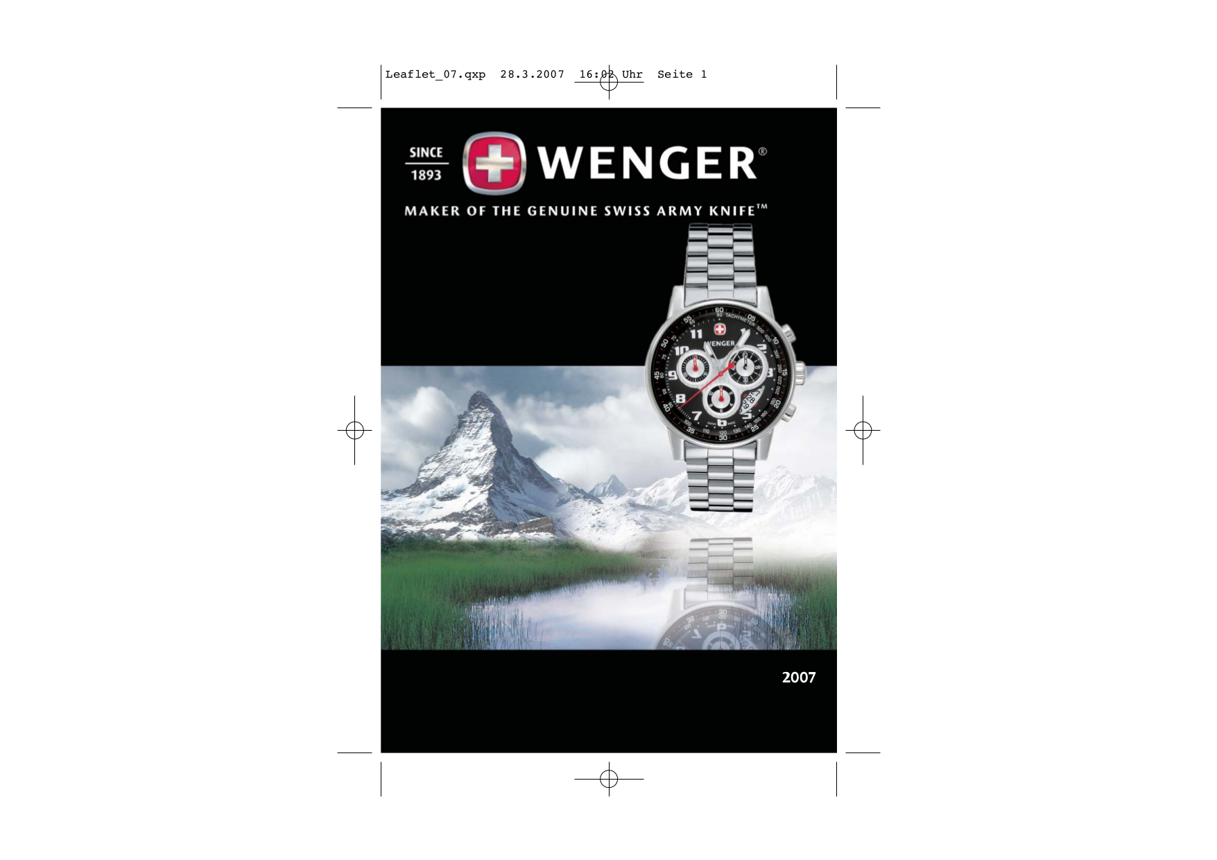 pdf for Wenger Watch 72237 manual