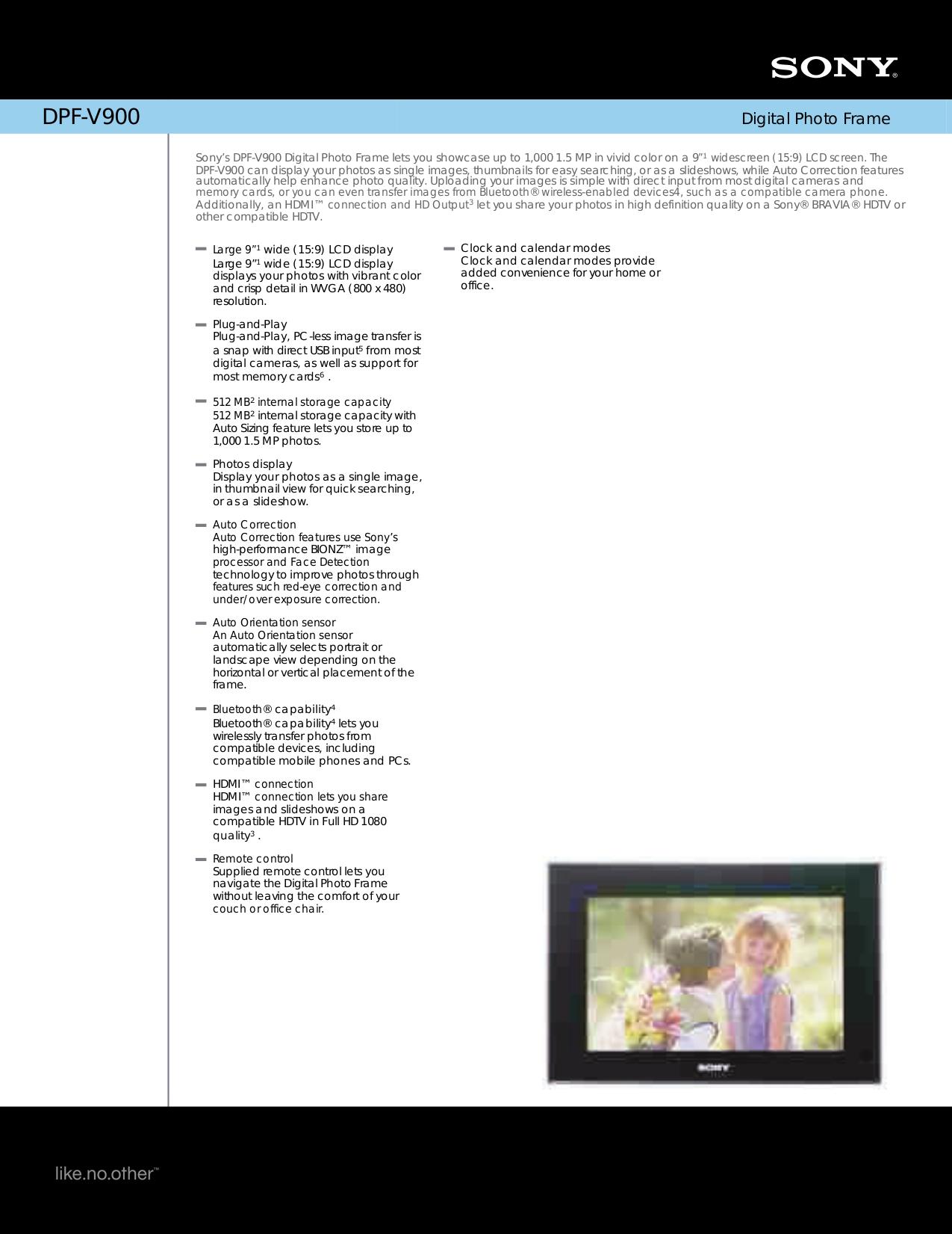 "Sony dpf-d70 7"" digital photo frame pcmag australia."